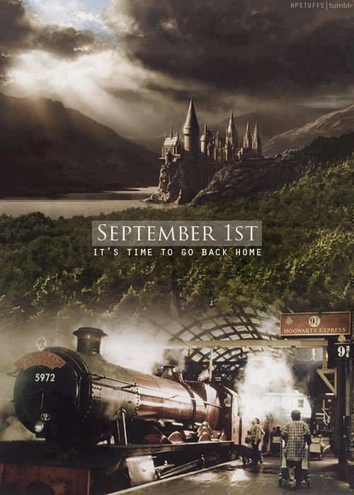 Dia 1 de setembro, dia de voltar pra casa