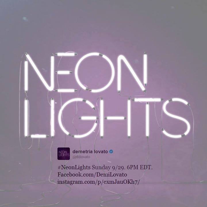 Neon Lights sera próximo Single da Demi