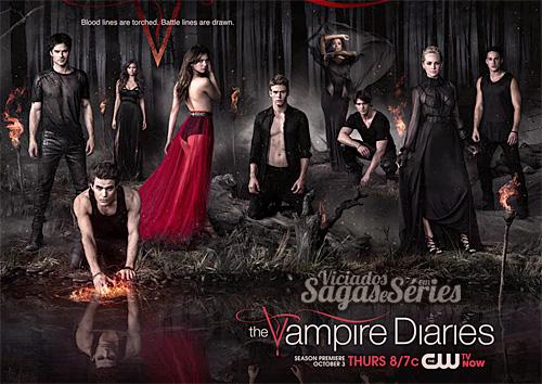 Primeiro Poster da 5 Temporada de TVD