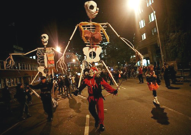 New York, USA - Halloween Parade - New York car hire